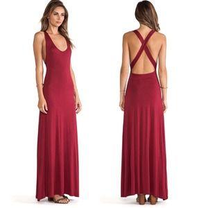 Lovers + Friends by Revolve Feeling Fine Maxi Dress Small Medium Red